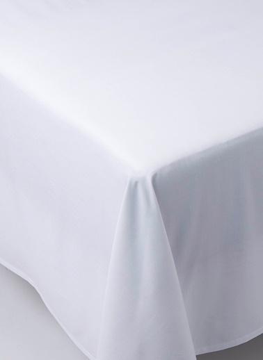 Chakra Classıc Unı Duz Carsaf Kng Beyaz